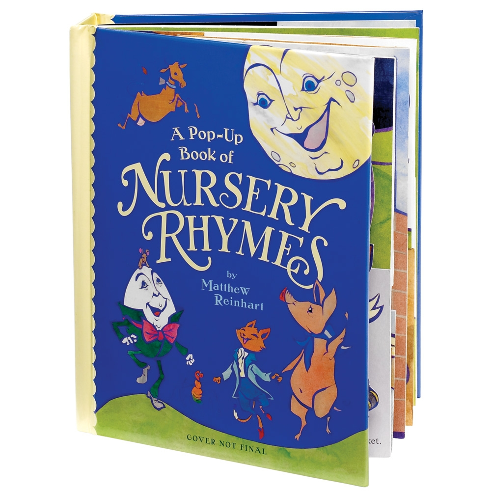 Pop Up Book Of Nursery Rhymes