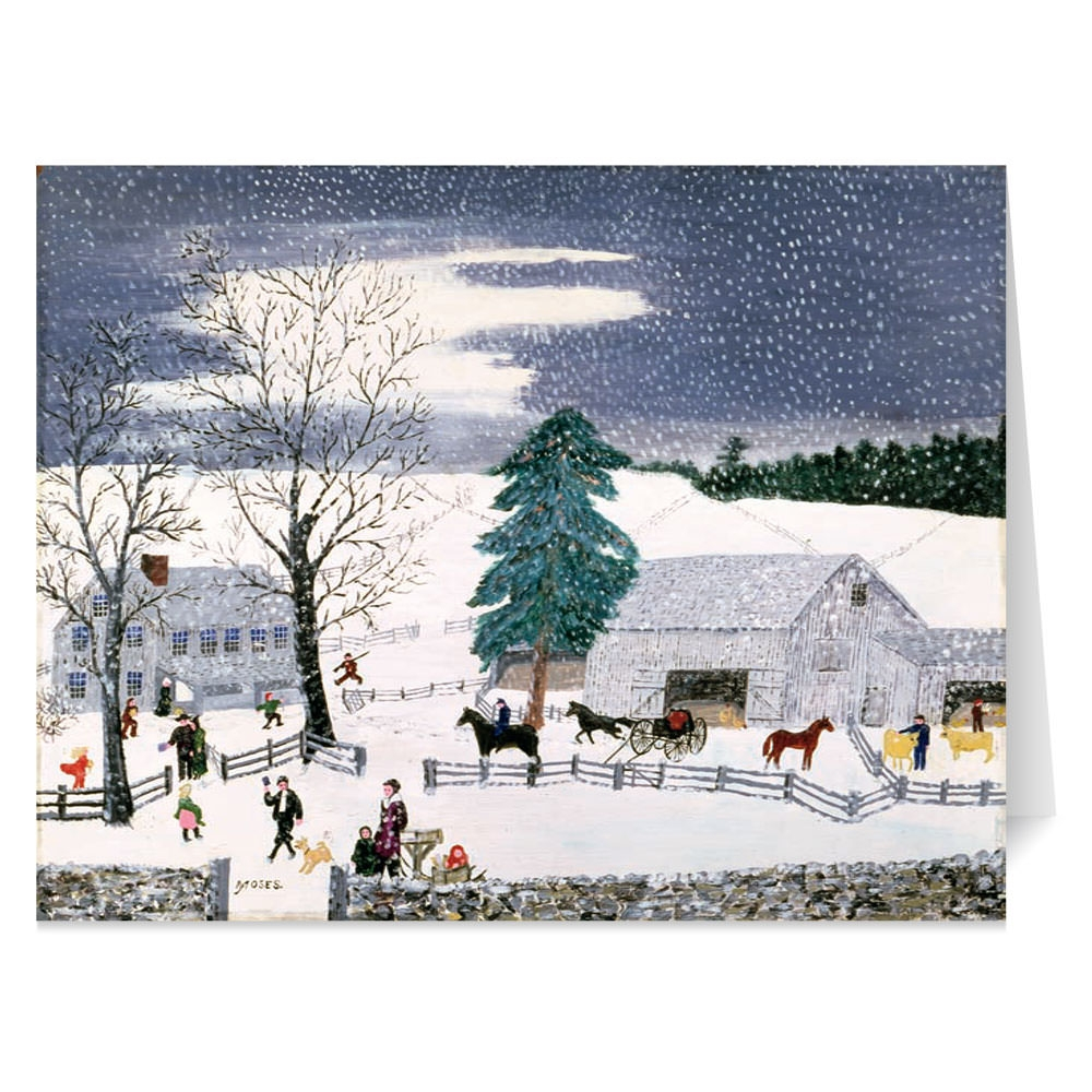 Ruellan: Christmas Carols Holiday Cards - The Met Store