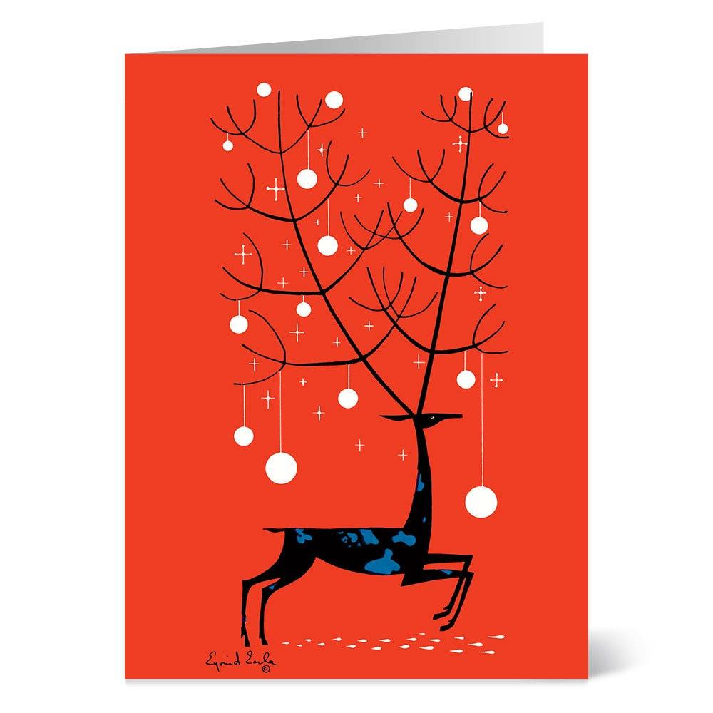 Earle: Red Deer Holiday Cards - The Met Store