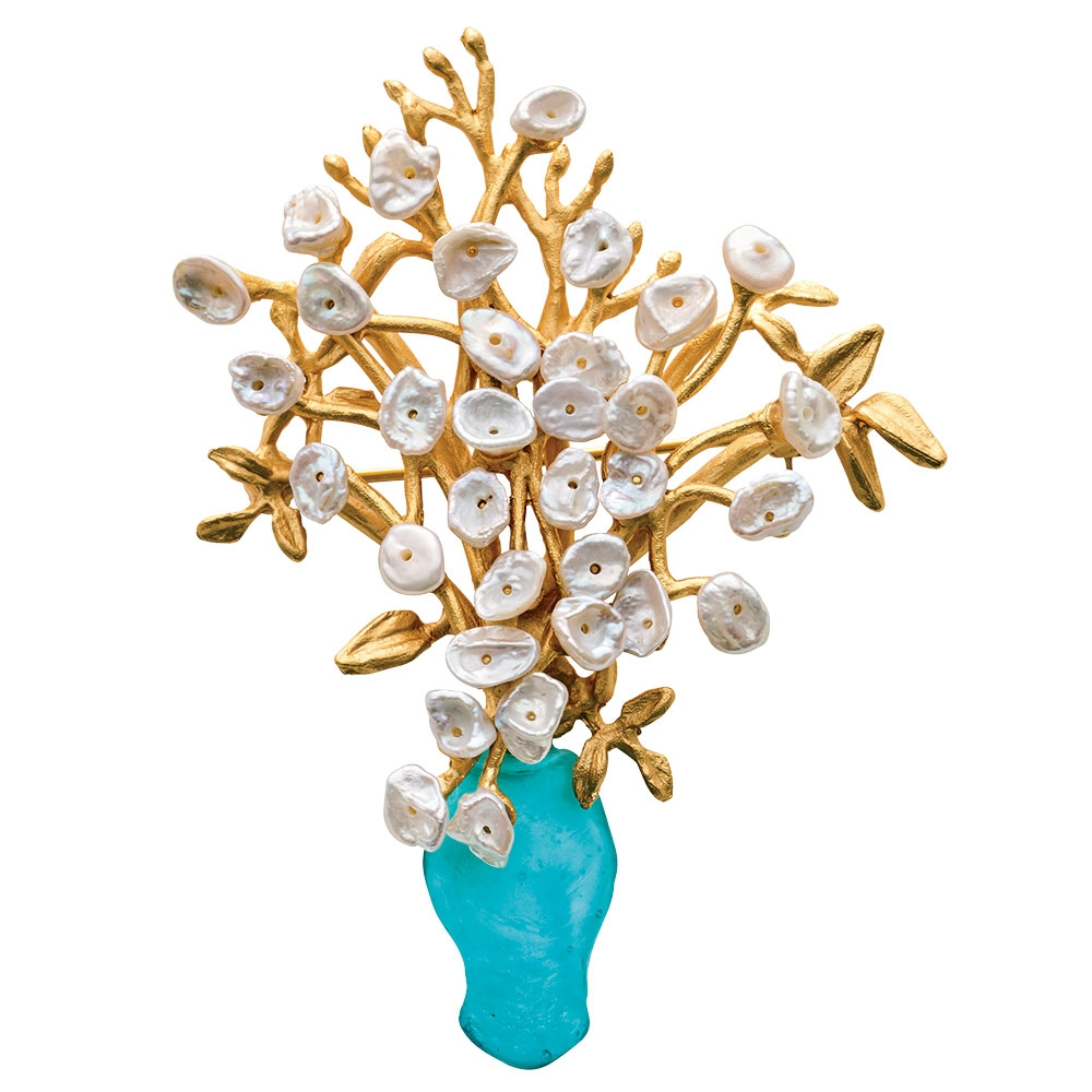 Lily Of The Valley Pin The Met Store