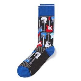 Electric Guitar Men's Socks