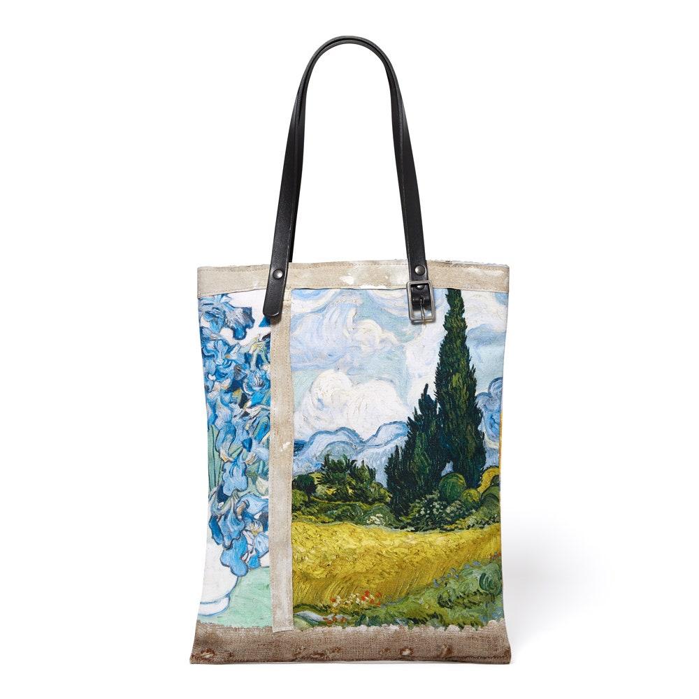 Guardians Of The Galaxy Parody Natural Shopping Bag Save The Galaxy Plant A Tree Environmentally Friendly Tote Bag