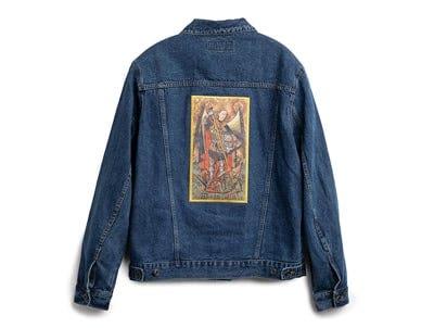 Saint Michael Patch Denim Jacket