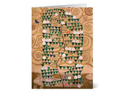 Klimt Tree of Life Holiday Cards