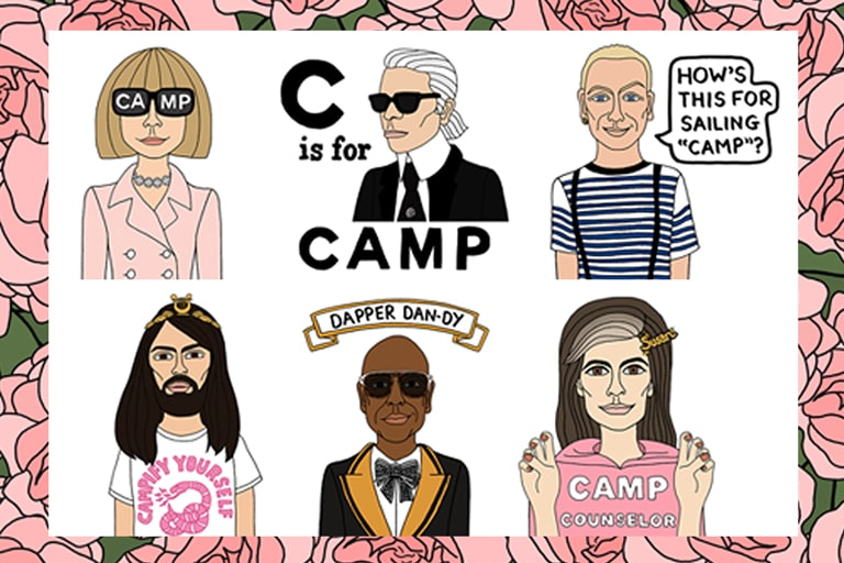 Camp: Notes on Fashion Icons