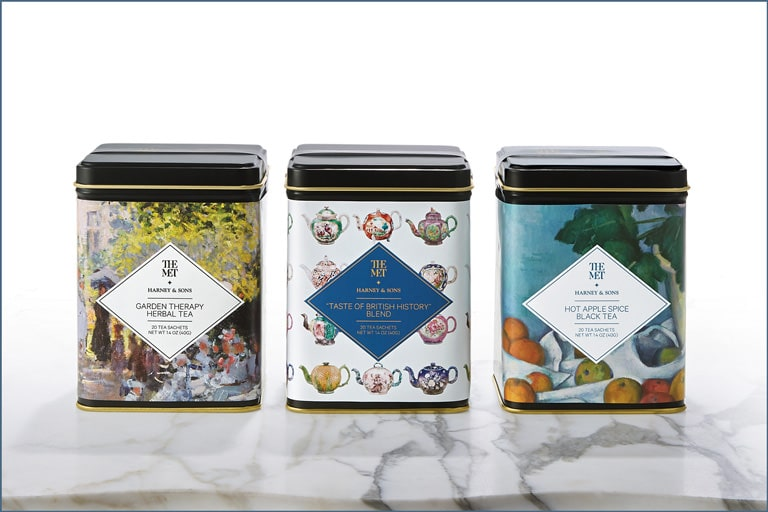 The Met x Harney & Sons: Tea Tin Set