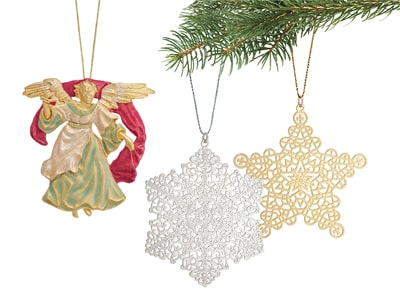 Met Store Annual Holiday Ornaments