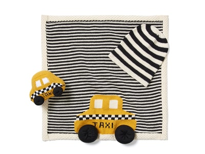 NYC Taxi Baby Gift Set