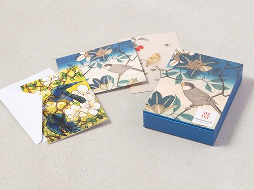 Birds & Flowers Notecards