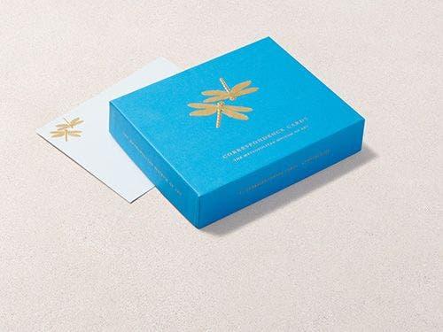 Louis C. Tiffany Dragonflies Cards