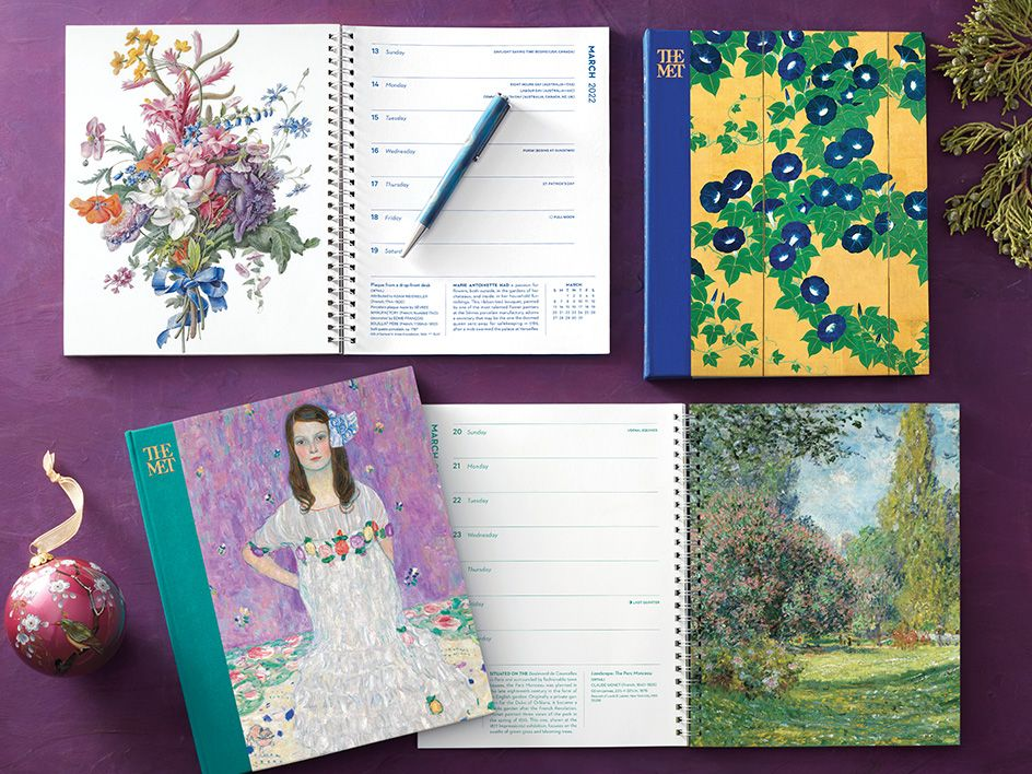 2022 Calendars from The Met Store